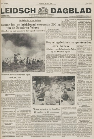 Leidsch Dagblad 1955-07-26