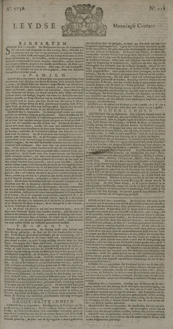 Leydse Courant 1736-10-01