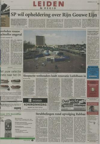Leidsch Dagblad 2004-04-29