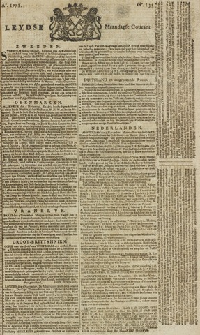 Leydse Courant 1771-11-11