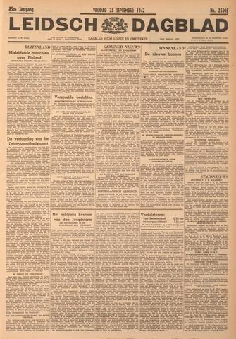 Leidsch Dagblad 1942-09-25