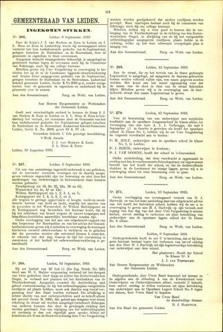 Handelingen van de Raad 1910-09-08