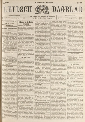 Leidsch Dagblad 1915-01-29