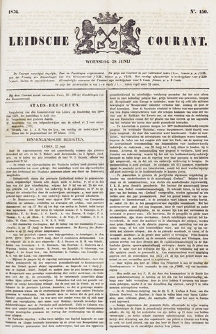 Leydse Courant 1876-06-28