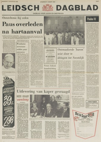 Leidsch Dagblad 1978-08-07
