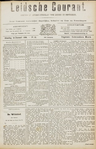 Leydse Courant 1890-01-14