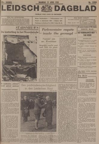 Leidsch Dagblad 1938-04-25