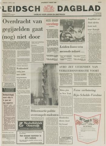 Leidsch Dagblad 1980-04-01
