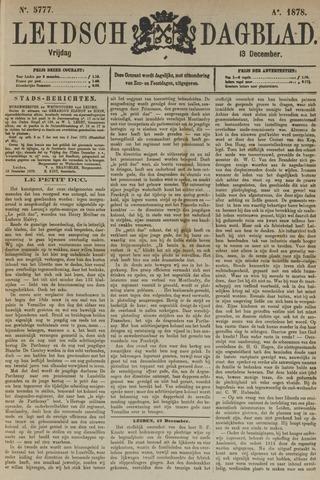 Leidsch Dagblad 1878-12-13