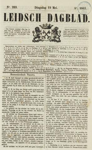 Leidsch Dagblad 1863-05-19
