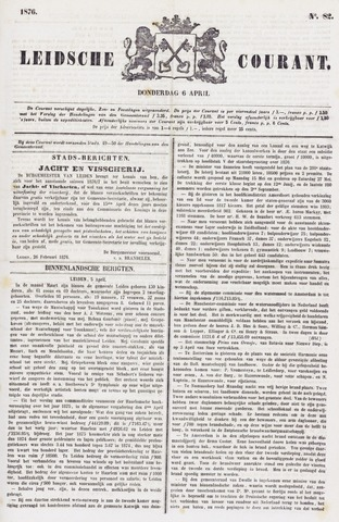 Leydse Courant 1876-04-06