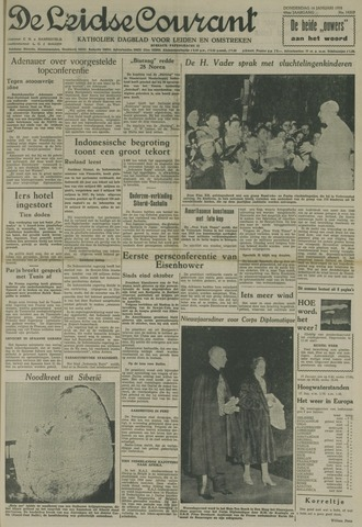 Leidse Courant 1958-01-16