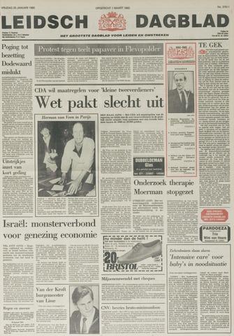 Leidsch Dagblad 1985-01-25