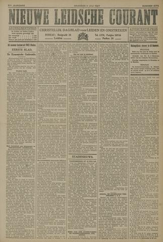 Nieuwe Leidsche Courant 1927-07-11