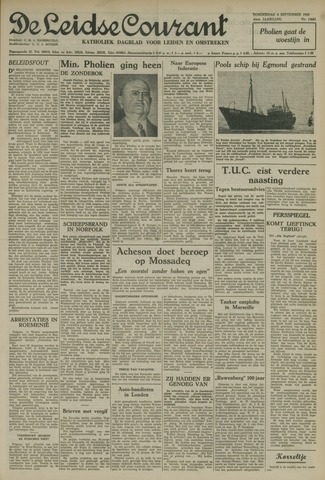 Leidse Courant 1952-09-04