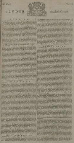 Leydse Courant 1740-08-22