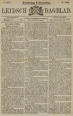 Leidsch Dagblad 1882-11-09