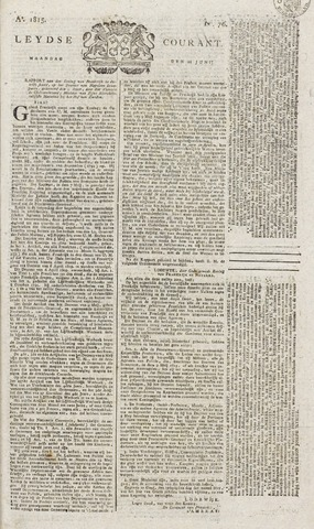 Leydse Courant 1815-06-26