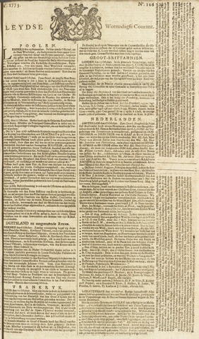 Leydse Courant 1773-10-20