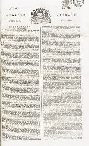 Leydse Courant 1841-10-06