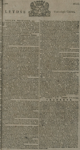 Leydse Courant 1729-10-05