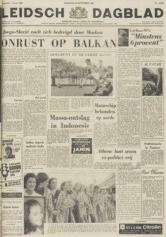 Leidsch Dagblad 1968-09-23