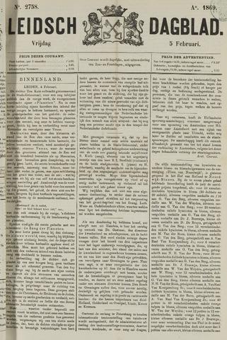 Leidsch Dagblad 1869-02-05