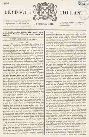 Leydse Courant 1850-05-08