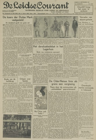 Leidse Courant 1949-09-30