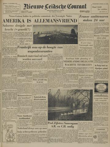 Nieuwe Leidsche Courant 1957-11-19