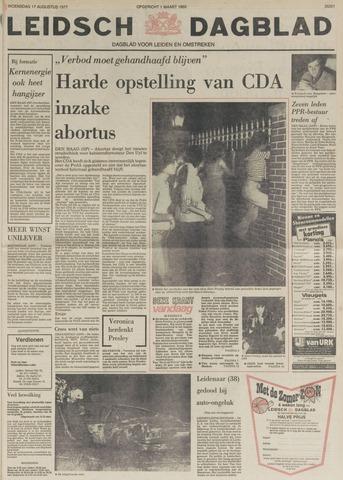 Leidsch Dagblad 1977-08-17
