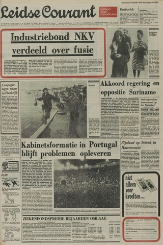 Leidse Courant 1975-09-17