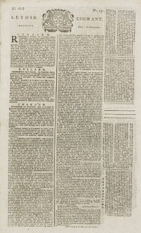 Leydse Courant 1818-11-02