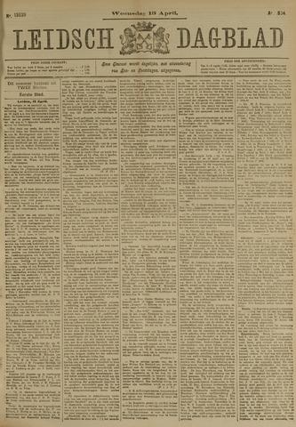 Leidsch Dagblad 1904-04-13