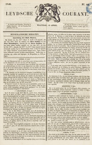 Leydse Courant 1846-04-13
