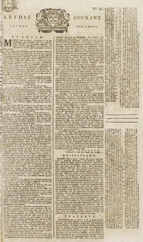 Leydse Courant 1814-04-29
