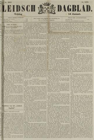 Leidsch Dagblad 1870-01-14