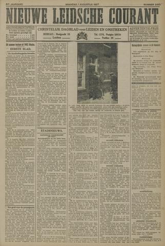 Nieuwe Leidsche Courant 1927-08-01