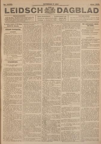 Leidsch Dagblad 1926-07-17