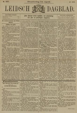 Leidsch Dagblad 1890-04-24
