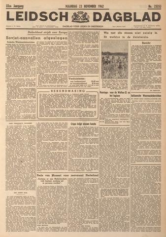 Leidsch Dagblad 1942-11-23