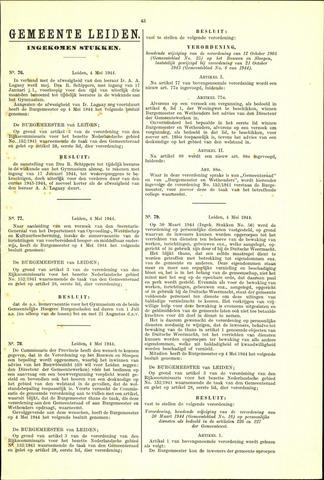 Handelingen van de Raad 1944-05-04