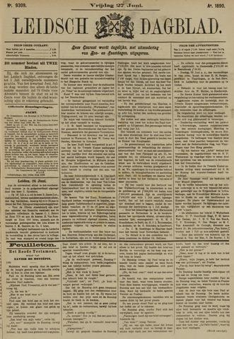 Leidsch Dagblad 1890-06-27