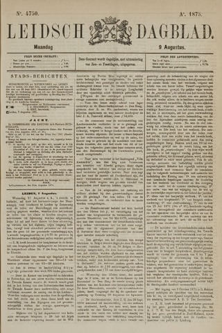 Leidsch Dagblad 1875-08-09