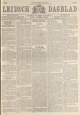 Leidsch Dagblad 1915-06-16