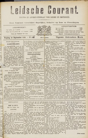 Leydse Courant 1889-09-13