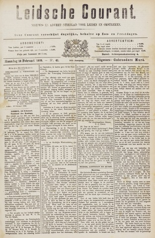 Leydse Courant 1889-02-18