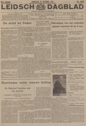 Leidsch Dagblad 1940-09-26