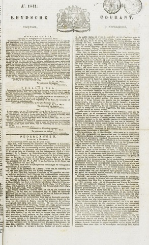 Leydse Courant 1841-11-05