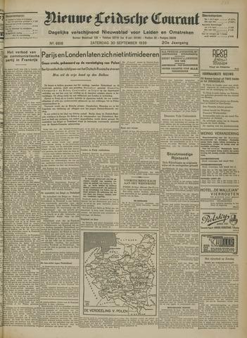 Nieuwe Leidsche Courant 1939-09-30